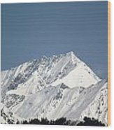 Mountain Of Peace - Himalayas Wood Print
