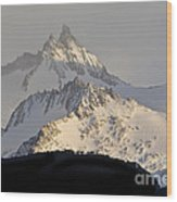 Mountain Peaks, Argentina Wood Print