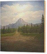 Mountain Run Road  Wood Print