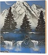 Mountain Splendor Wood Print