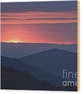 Mountain Sunset - D008988 Wood Print