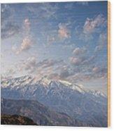 Mountain Top Wood Print