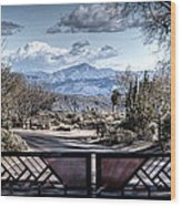 Mountainous Splendor Wood Print