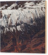 Mountains. Aerial. Beauty Of Our Planet Wood Print
