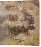 Mountains At The Dead Sea Wood Print