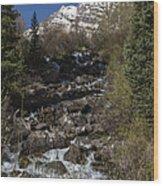 Mountains Co Maroon Creek 2 Wood Print