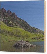 Mountains Co Maroon Lake 4 Wood Print