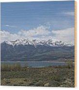 Mountains Co Mt Elbert 1 Wood Print