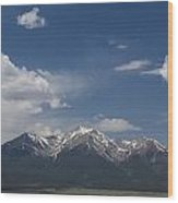 Mountains Co Mt Princeton 1 Wood Print
