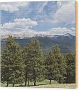 Mountains Co Mueller Sp 1 Wood Print