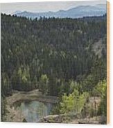 Mountains Co Mueller Sp 15 Wood Print