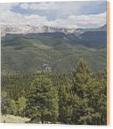 Mountains Co Mueller Sp 2 Wood Print