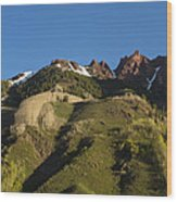 Mountains Co Sievers 1 Wood Print