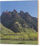 Mountains Co Sievers 2 A Wood Print