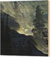 Mountains Dreams Wood Print