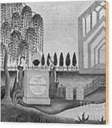 Mourning C1815 Wood Print