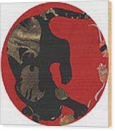 Mouse Cat Wood Print