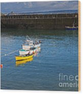 Mousehole Cornwall Wood Print
