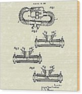 Mouthpiece 1964 Patent Art Wood Print