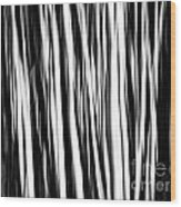 Movement One Wood Print