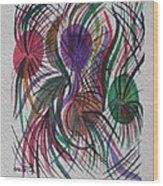 Movement Wood Print