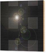 Moveonart Lightscameraaction Wood Print