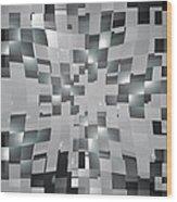 Moveonart Visualtherapytime25 Wood Print