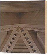 High Brow Bird House Wood Print