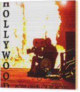 Movie Capital Poster Work 3 Wood Print