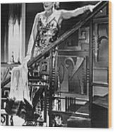 Movie Star Olga Baclanova Wood Print
