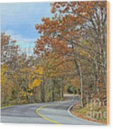 Movin On Down The Road Wood Print