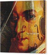Mozart Wood Print