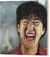 Mr. Chow Hangover Part 2 Wood Print