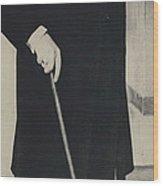 Mr. Churchill Calls On King Frederick Of Denmark At Wood Print