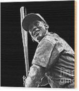 Mr. Cub Wood Print by David Bearden
