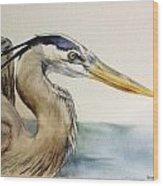 Mr herrin Wood Print