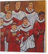Mr Jameson's Boys Wood Print