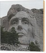 Mr Lincoln Wood Print