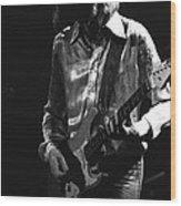 Mick In 1977 Wood Print