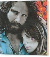 Mr Mojo Risin And Pam Wood Print