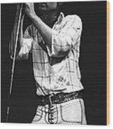 Bad Company Live In 1977 Wood Print