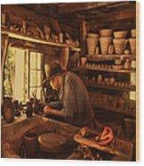 Mr. Potter Wood Print