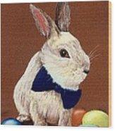 Mr. Rabbit Wood Print