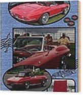 Mr. Sox Corvette Wood Print