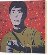 Mr Sulu Wood Print