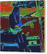 Mrdog # 71 Psychedelically Enhanced Wood Print