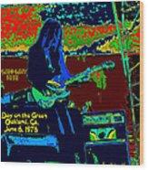 Mrdog # 71 Psychedelically Enhanced W/text Wood Print