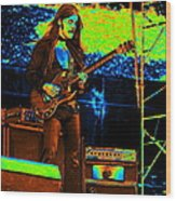 Mrdog #84 In Cosmicolors 2 Wood Print