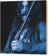 Mrmt #1 In Blue Wood Print