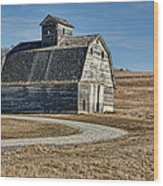 Mrs. Green's Barn Wood Print